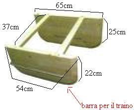 costruzione del barchino divergente