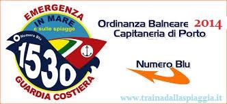 ordinanza di sicurezza balneare 2014