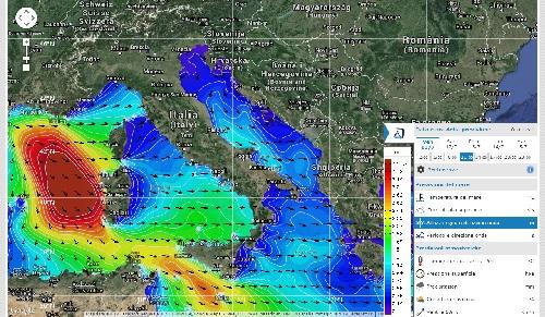 sea conditions il monitor delle onde prima della pesca