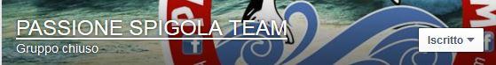 pagina facebook passione spigola team