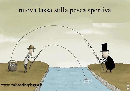 tassa sulla pesca sportiva