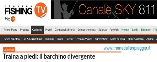 barchino divergente su italian fishing tv