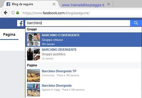 barchino divergente su facebook