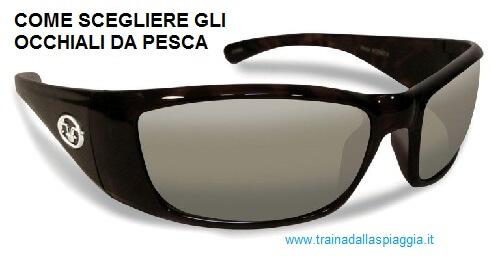 occhiali polarizzati per pesca